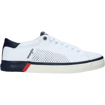Παπούτσια Άνδρας Χαμηλά Sneakers Wrangler WM01032A λευκό