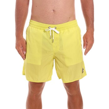 Υφασμάτινα Άνδρας Μαγιώ / shorts για την παραλία Colmar 7248 6TL Κίτρινος