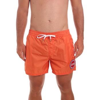 Υφασμάτινα Άνδρας Μαγιώ / shorts για την παραλία Colmar 7267 5ST Πορτοκάλι