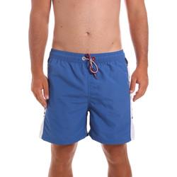 Υφασμάτινα Άνδρας Μαγιώ / shorts για την παραλία Key Up 2X003 0001 Μπλε
