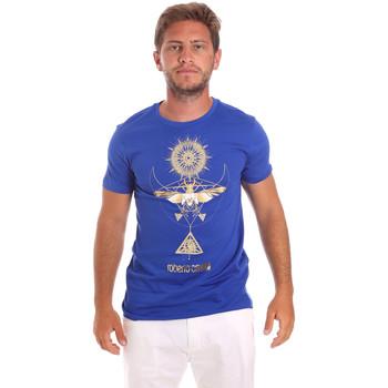 T-shirt με κοντά μανίκια Roberto Cavalli HST65B