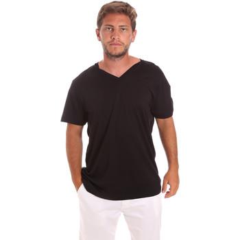 Υφασμάτινα Άνδρας T-shirt με κοντά μανίκια Colmar 7521 6SS Μαύρος