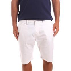 Υφασμάτινα Άνδρας Σόρτς / Βερμούδες Sseinse PB739SS λευκό