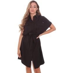 Υφασμάτινα Γυναίκα Κοντά Φορέματα Gaudi 111FD15011 Μαύρος