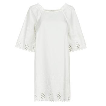 Υφασμάτινα Γυναίκα Κοντά Φορέματα Only ONLLILLO Άσπρο