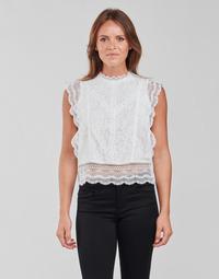 Υφασμάτινα Γυναίκα Μπλούζες Only ONLKARO Άσπρο