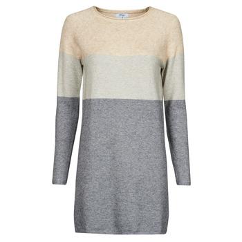 Υφασμάτινα Γυναίκα Κοντά Φορέματα Betty London PIMPA Ροζ / Grey