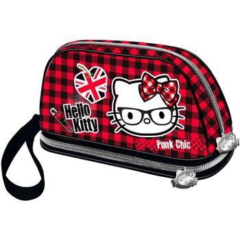 Τσάντες Γυναίκα Κασετίνες Hello Kitty 41631 Rojo