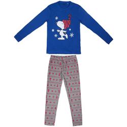 Υφασμάτινα Γυναίκα Πιτζάμα/Νυχτικό Snoopy 2200004851 Azul
