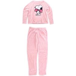 Υφασμάτινα Γυναίκα Πιτζάμα/Νυχτικό Snoopy HS3644 PINK Rosa