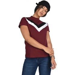 Υφασμάτινα Γυναίκα T-shirt με κοντά μανίκια Project X Paris  Red