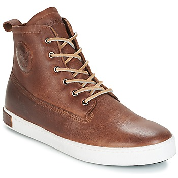 Παπούτσια Άνδρας Ψηλά Sneakers Blackstone INCH WORKER ON FOXING FUR Brown