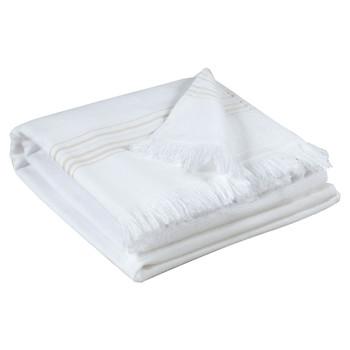 Σπίτι Πετσέτες και γάντια μπάνιου Vivaraise CANCUN Άσπρο