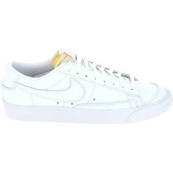 Xαμηλά Sneakers Nike Blazer Low Blanc Blanc 1010811400011 [COMPOSITION_COMPLETE]