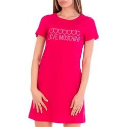 Υφασμάτινα Γυναίκα Κοντά Φορέματα Love Moschino W592915M3876 Fuxia