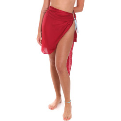 Υφασμάτινα Γυναίκα Παρεό Me Fui M20-0052RS το κόκκινο