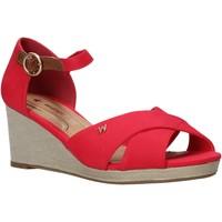 Παπούτσια Γυναίκα Σανδάλια / Πέδιλα Wrangler WL01520A το κόκκινο