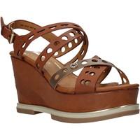 Παπούτσια Γυναίκα Σανδάλια / Πέδιλα Wrangler WL01570A καφέ