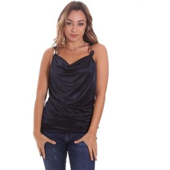 Υφασμάτινα Γυναίκα Αμάνικα / T-shirts χωρίς μανίκια Gaudi 111FD44001 Μπλε