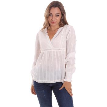 Υφασμάτινα Γυναίκα Μπλούζες Gaudi 111BD45024 λευκό