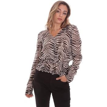 Υφασμάτινα Γυναίκα Μπλούζες Gaudi 111BD45044 καφέ