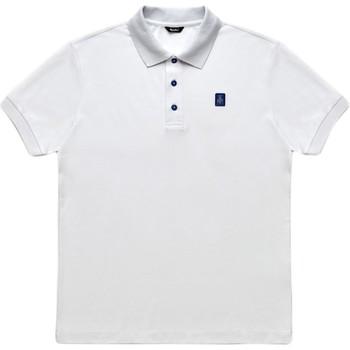 Υφασμάτινα Άνδρας Πόλο με κοντά μανίκια  Refrigiwear RM0T19001PX9032 λευκό