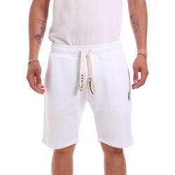 Υφασμάτινα Άνδρας Σόρτς / Βερμούδες Colmar 8299 2SH λευκό