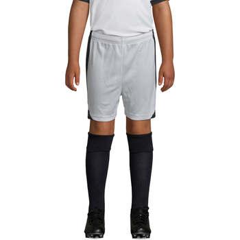 Υφασμάτινα Αγόρι Σόρτς / Βερμούδες Sols OLIMPICO KIDS pantalón corto Blanco