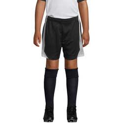 Υφασμάτινα Αγόρι Σόρτς / Βερμούδες Sols OLIMPICO KIDS pantalón corto Negro