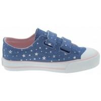 Παπούτσια Κορίτσι Χαμηλά Sneakers MTNG ZAPATILLAS VELCRO NIÑA MUSTANG 47289 Μπλέ