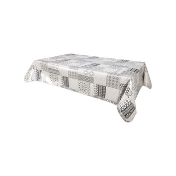 Σπίτι Τραπεζομάντιλο Habitable IDALY - GRIS - 140X200 CM Grey