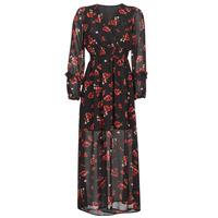 Υφασμάτινα Γυναίκα Μακριά Φορέματα Moony Mood PILAF Black / Red