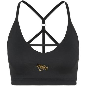 Υφασμάτινα Γυναίκα Αθλητικά μπουστάκια  Nike Indy Strappy Μαύρος