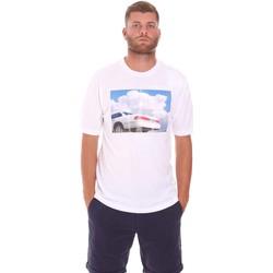 Υφασμάτινα Άνδρας T-shirt με κοντά μανίκια Sseinse TE1825SS λευκό