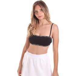 Υφασμάτινα Γυναίκα Μαγιό μόνο το πάνω ή κάτω μέρος Calvin Klein Jeans KW0KW01274 Μαύρος