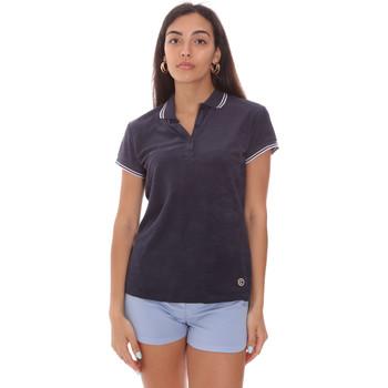 Υφασμάτινα Γυναίκα Πόλο με κοντά μανίκια  Colmar 8733 2TQ Μπλε