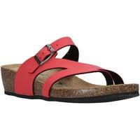 Παπούτσια Γυναίκα Σαγιονάρες Valleverde G5306 το κόκκινο
