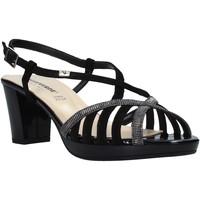 Παπούτσια Γυναίκα Σανδάλια / Πέδιλα Valleverde 38536 Μαύρος