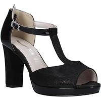 Παπούτσια Γυναίκα Σανδάλια / Πέδιλα Valleverde 45550 Μαύρος