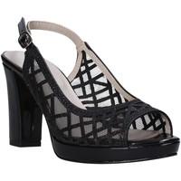 Παπούτσια Γυναίκα Σανδάλια / Πέδιλα Valleverde 45552 Μαύρος