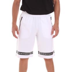 Υφασμάτινα Άνδρας Σόρτς / Βερμούδες Ea7 Emporio Armani 3KPS56 PJ05Z λευκό