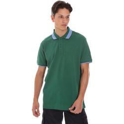 Υφασμάτινα Άνδρας Πόλο με κοντά μανίκια  Invicta 4452240/U Πράσινος