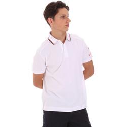 Υφασμάτινα Άνδρας Πόλο με κοντά μανίκια  Invicta 4452241/U λευκό