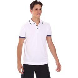 Υφασμάτινα Άνδρας Πόλο με κοντά μανίκια  Invicta 4452253/U λευκό