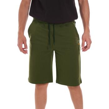 Υφασμάτινα Άνδρας Σόρτς / Βερμούδες Ciesse Piumini 215CPMP71415 C4410X Πράσινος