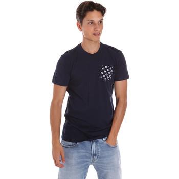 T-shirt με κοντά μανίκια Key Up 2S431 0001