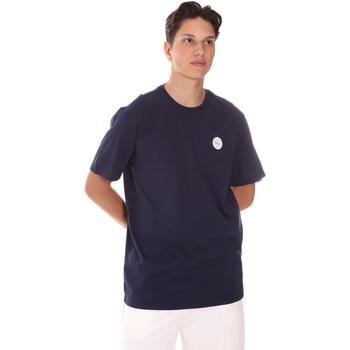 Υφασμάτινα Άνδρας T-shirt με κοντά μανίκια Fila 689290 Μπλε