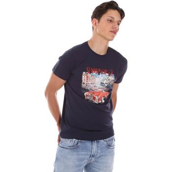 T-shirt με κοντά μανίκια Key Up 2S427 0001