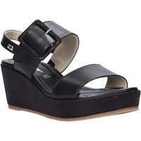 Παπούτσια Γυναίκα Σανδάλια / Πέδιλα Valleverde 32213 Μαύρος