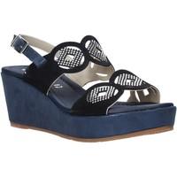 Παπούτσια Γυναίκα Σανδάλια / Πέδιλα Valleverde 32214 Μπλε